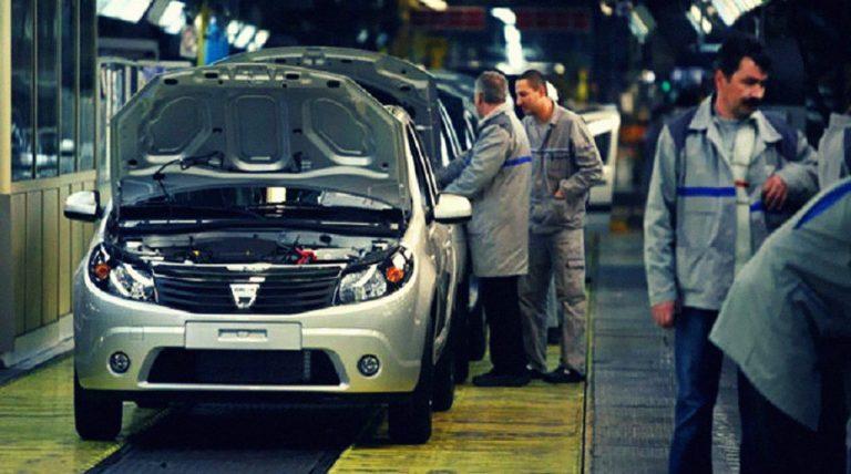Pandemia a redus cu 26% producția Dacia în 2020