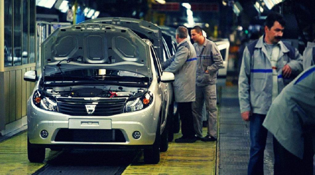 Zile fără producție la Dacia