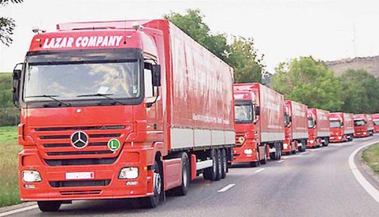 Internațional Lazăr Company a fost declarată Transportatorul Anului 2020 în România