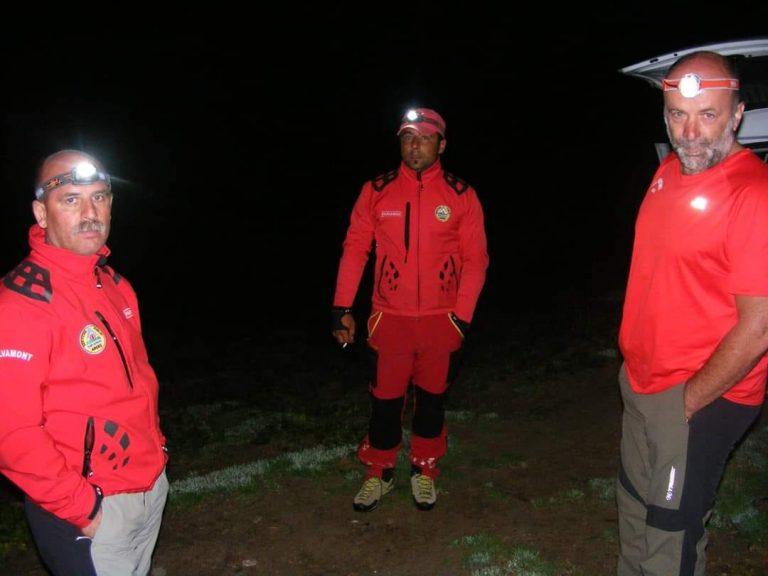 Misiune dificilă în plină noapte pentru salvamontiștii argeșeni
