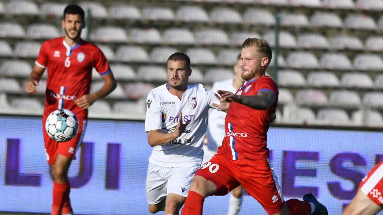 FC Argeș a obținut prima victorie în deplasare la Botoșani