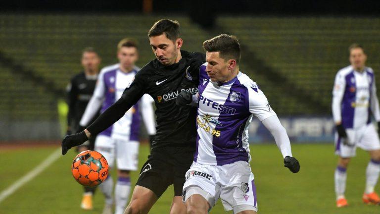 FC Argeș a învins Viitorul cu 1-0