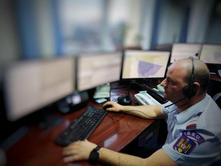 Copil salvat prin telefon de dispecerul ISU Argeș