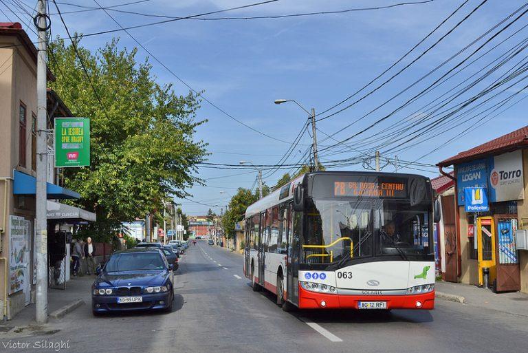 Rețeaua de transport din Pitești trebuie regândită