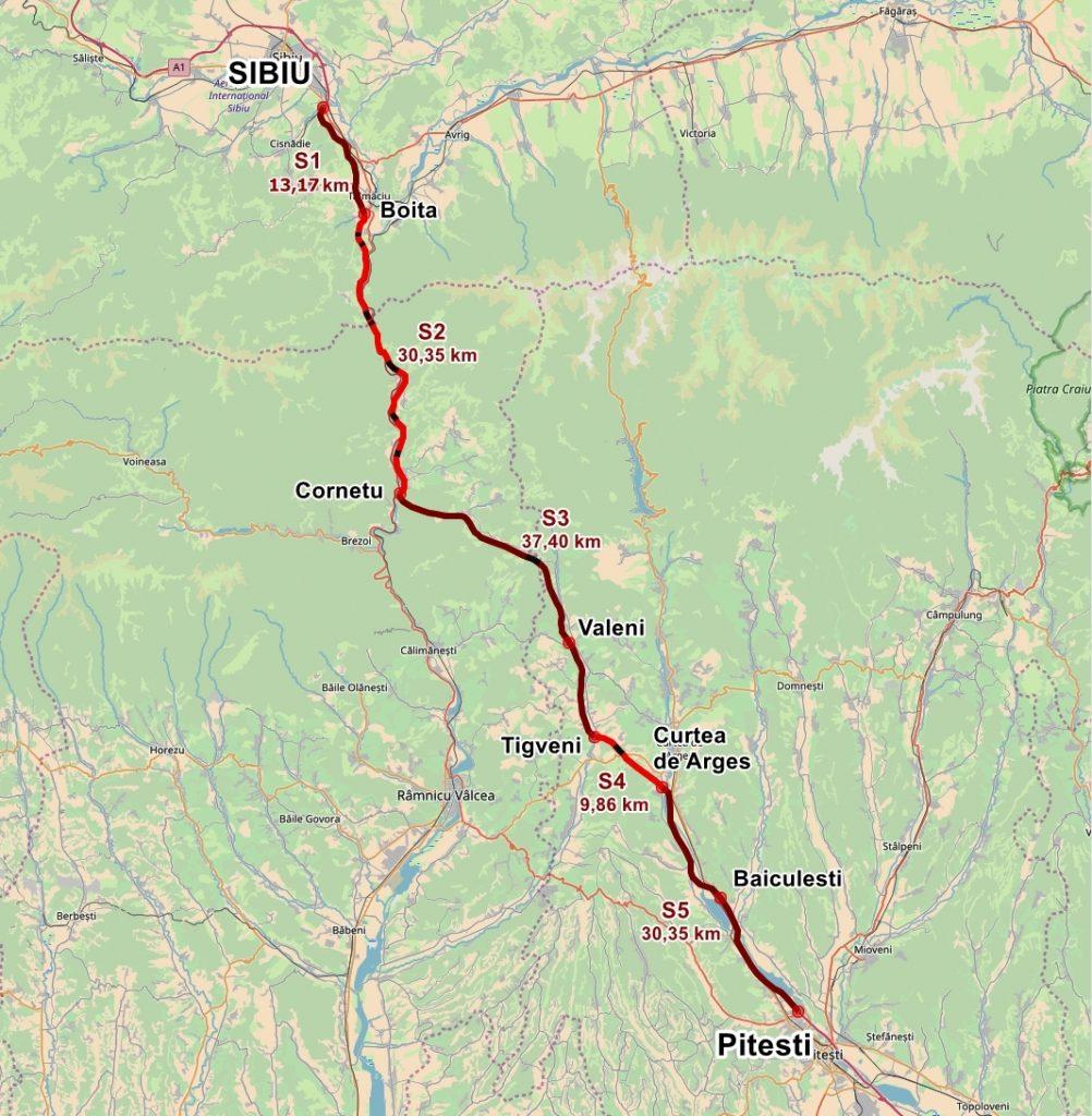 Autostrada Pitești - Sibiu