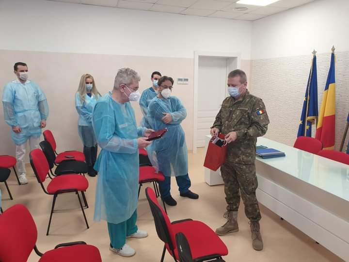 Doctor Marin Georgescu s-a pensionat de la Spitalul Militar