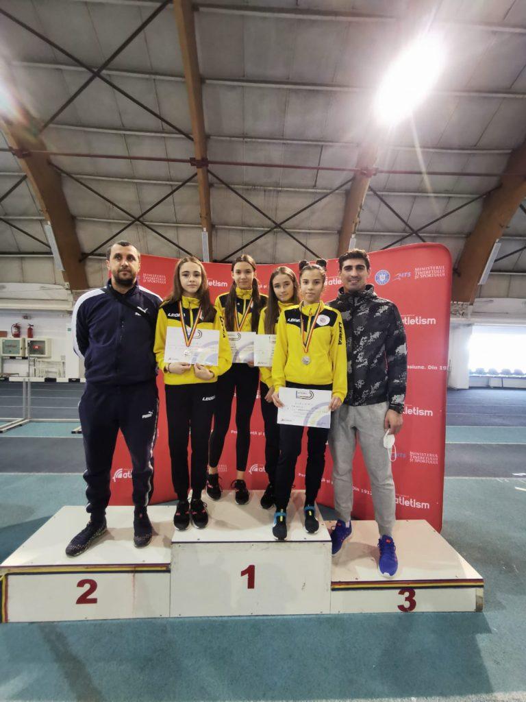 Argint și bronz pentru sportivii LPS Viitorul Pitești