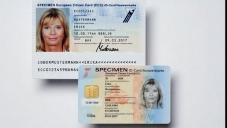 Cartea de identitate cu cip disponibilă din august