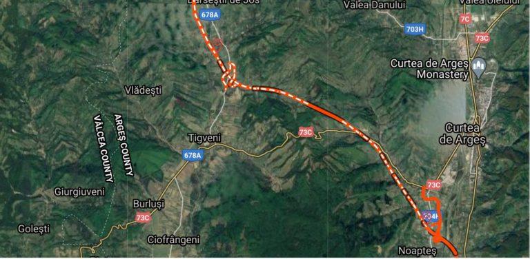 Lotul de autostradă Curtea de Argeș – Tigveni câștigat de Porr