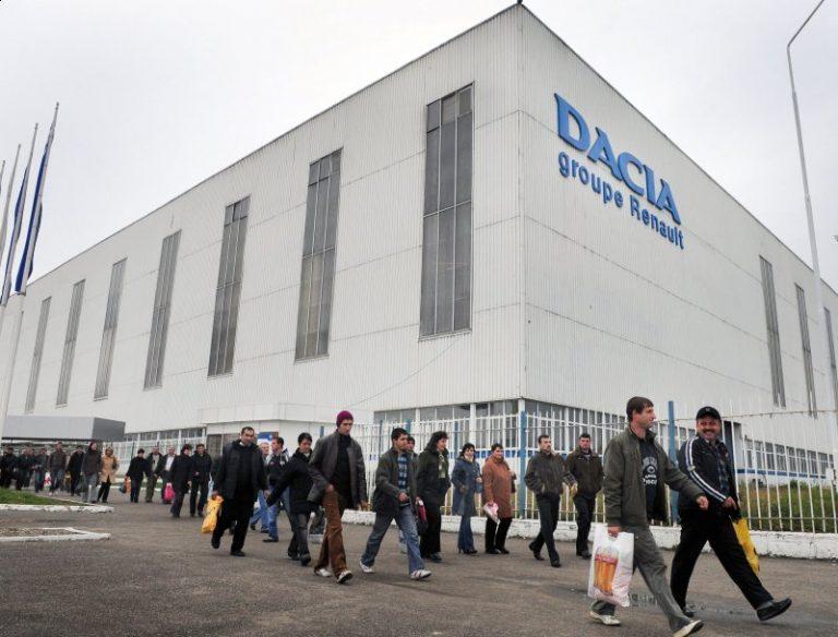 Dacia va opri din nou producția pe 5 și 8 martie