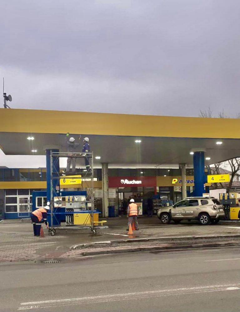 Parteneriat Petrom – Auchan la Pitești