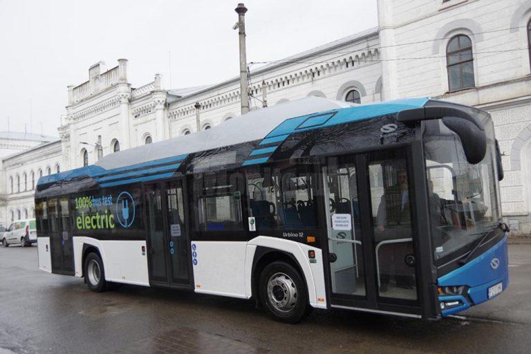 CAF livrează 123 de autobuze electrice în România