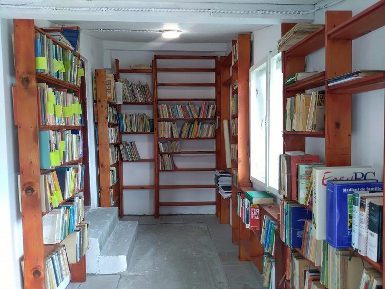 Sală de lectură nouă pentru copiii din Mârghia