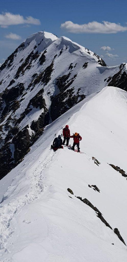 Avalanșă la munte