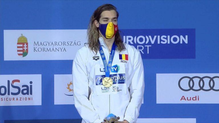 Robert Glință – piteșteanul de aur al natației europene