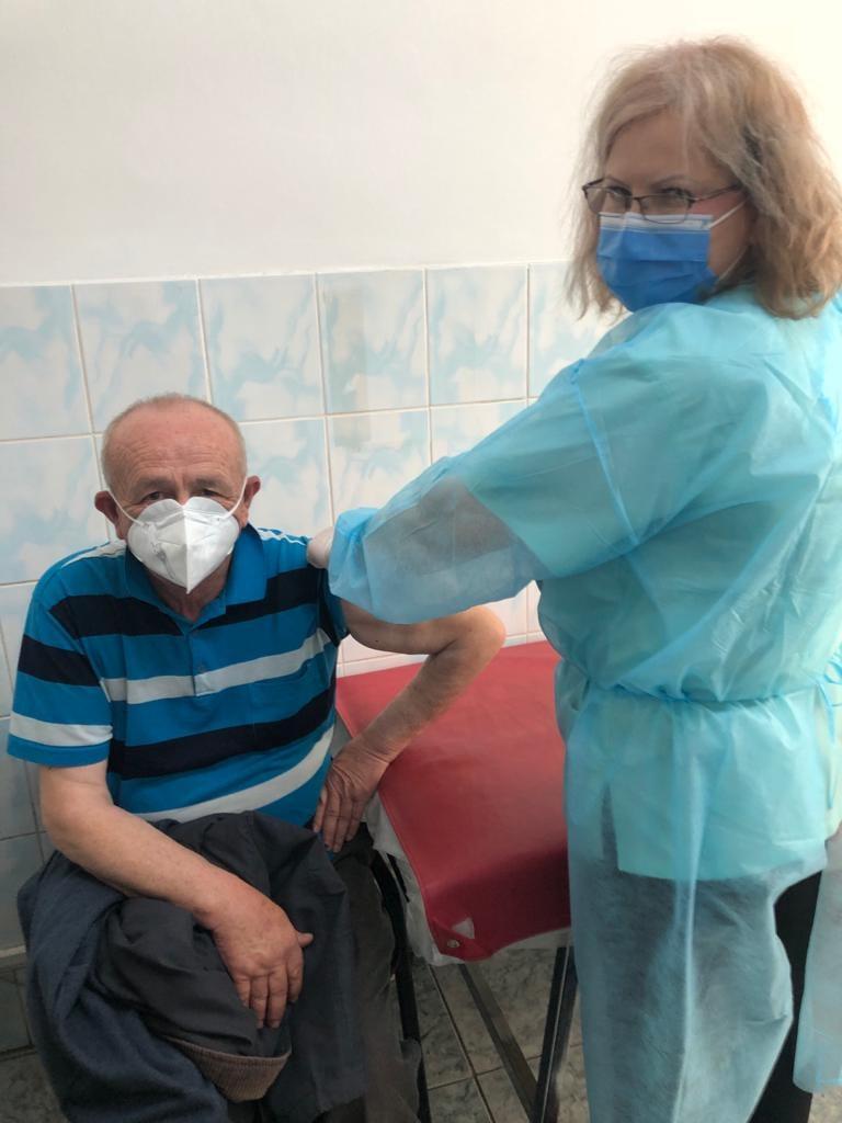 Zece mii de vaccinați la Spitalul Militar Pitești