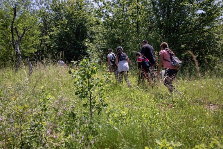 Reportaj Libertatea: Copiii din satul argeșean Tufanu merg la școală pe potecile urșilor