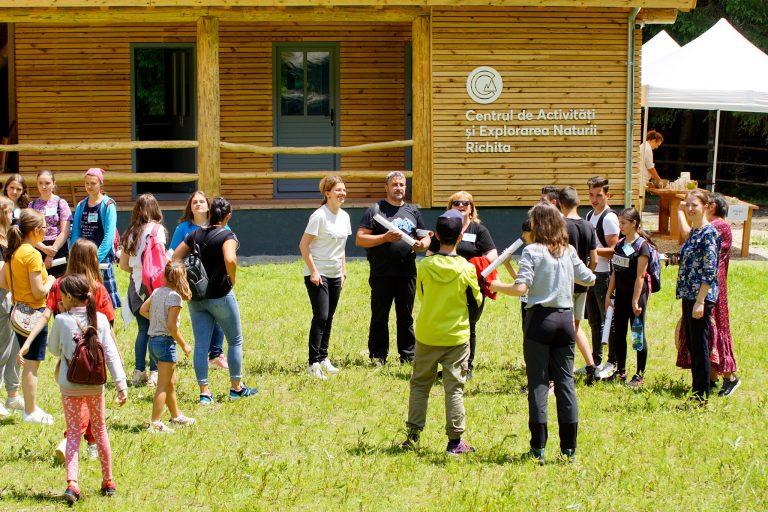 Richita – cel mai mare Centru de Activități și Explorarea Naturii din România s-a deschis la Sătic